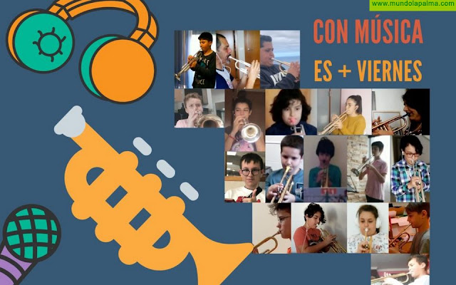 La Escuela Insular de Música de La Palma programa  el ciclo de conciertos 'Con Música es + Viernes' en su página web