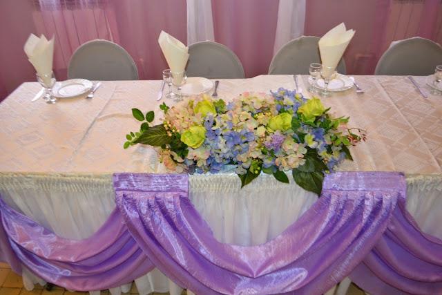 Пример свадебного оформления