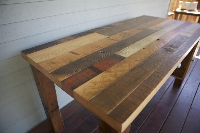 Arbor Exchange Reclaimed Wood Furniture Patchwork Desk