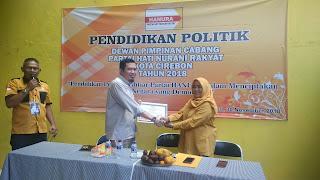 Hanura Kota Cirebon Berikan Pendidikan Politik Kepada Para Caleg
