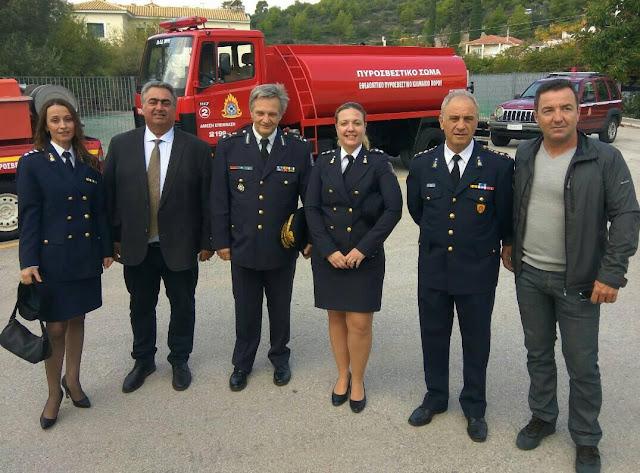 Εγκαίνια του Εθελοντικού Πυροσβεστικού Κλιμακίου Πόρου