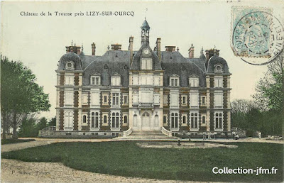 1800s reproduction postcard