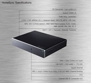 Samsung HomeSync, birden fazla cihaz üzerinden ev bulutu çözümü