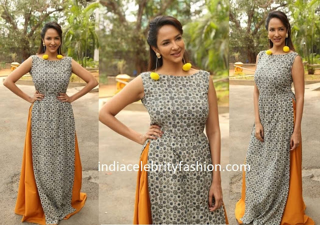 Lakshmi Manchu in Mogra Designs Dress