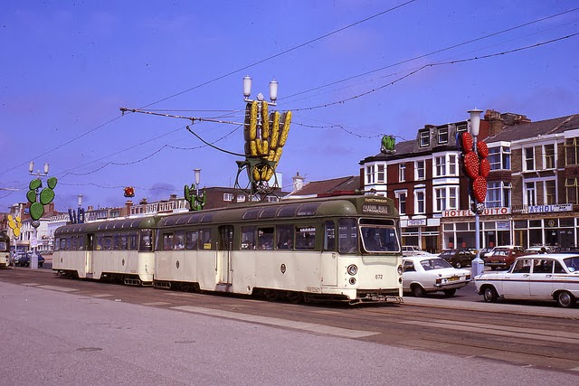 Tramways In Blackpool In The 1970 S Vintage Everyday