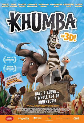 Khumba (2013) คุมบ้า ม้าลายแสบซ่าส์ตะลุยป่าซาฟารี