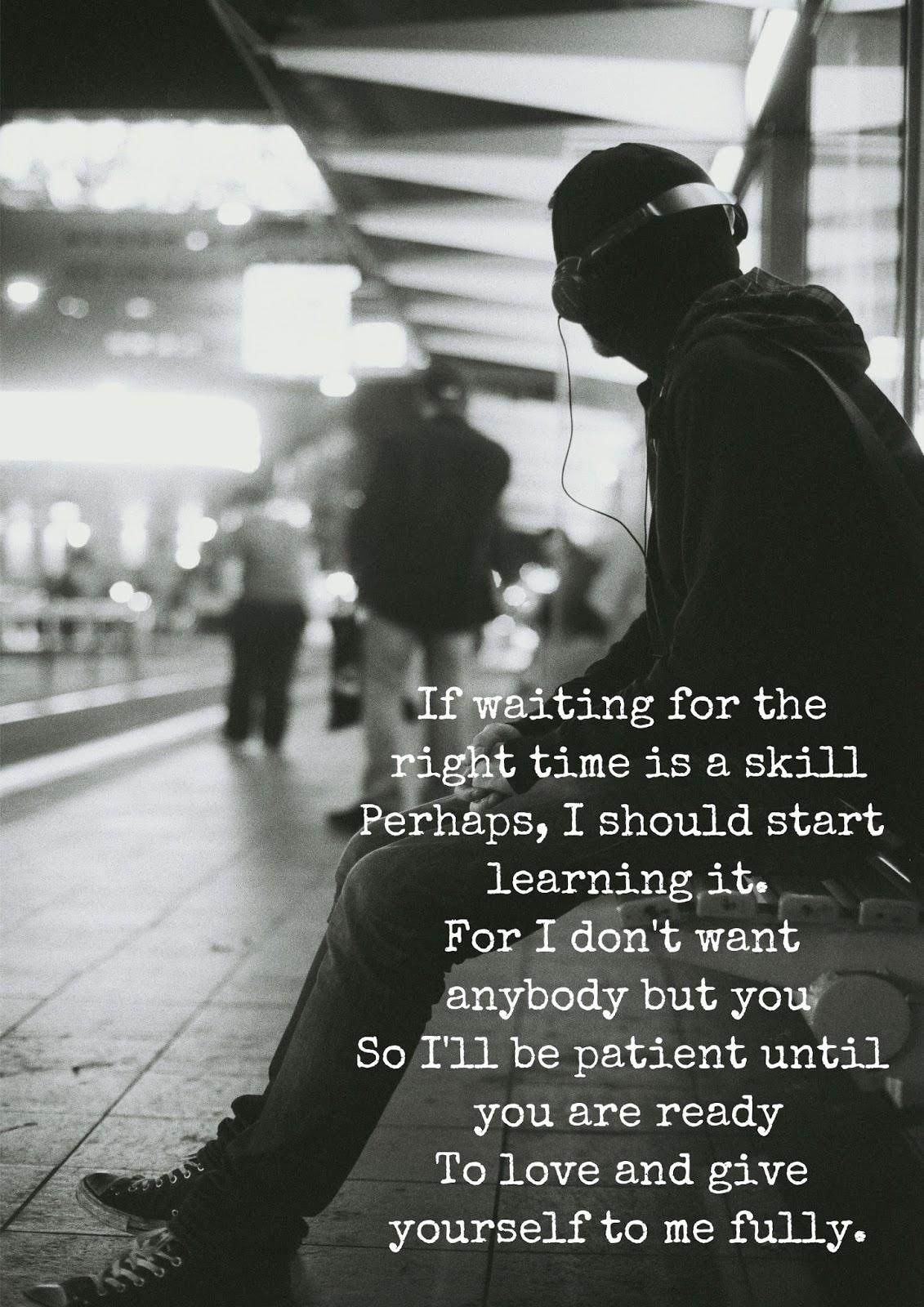 Patience Morbid Poems Deep Dark Sad Poetry