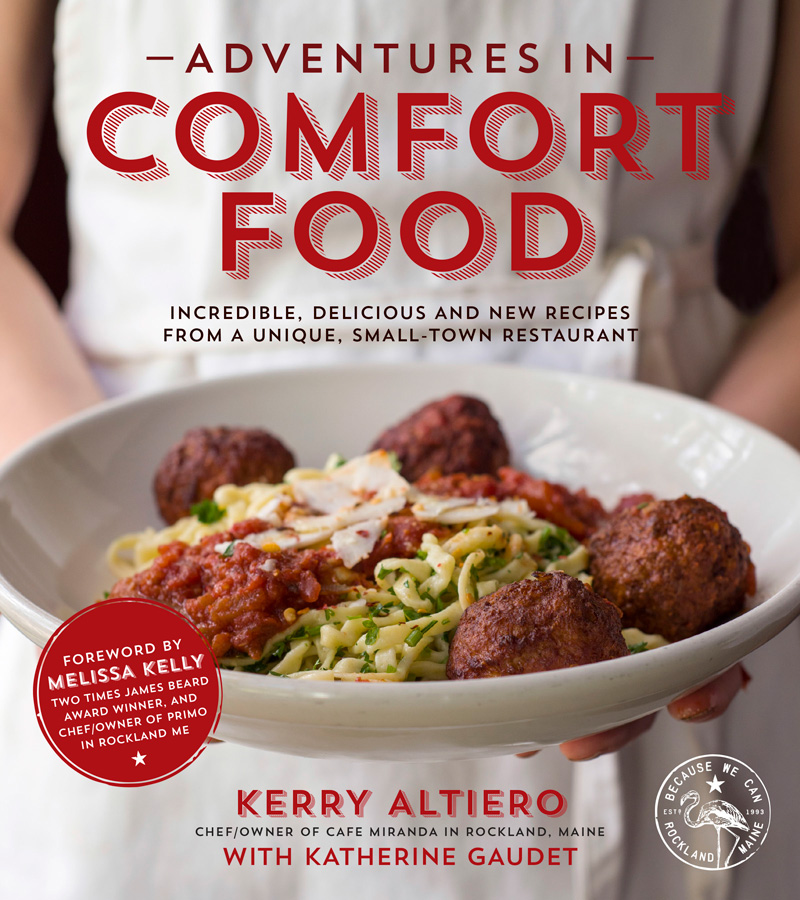Adventures in Comfort Food cookbook tour and giveaway