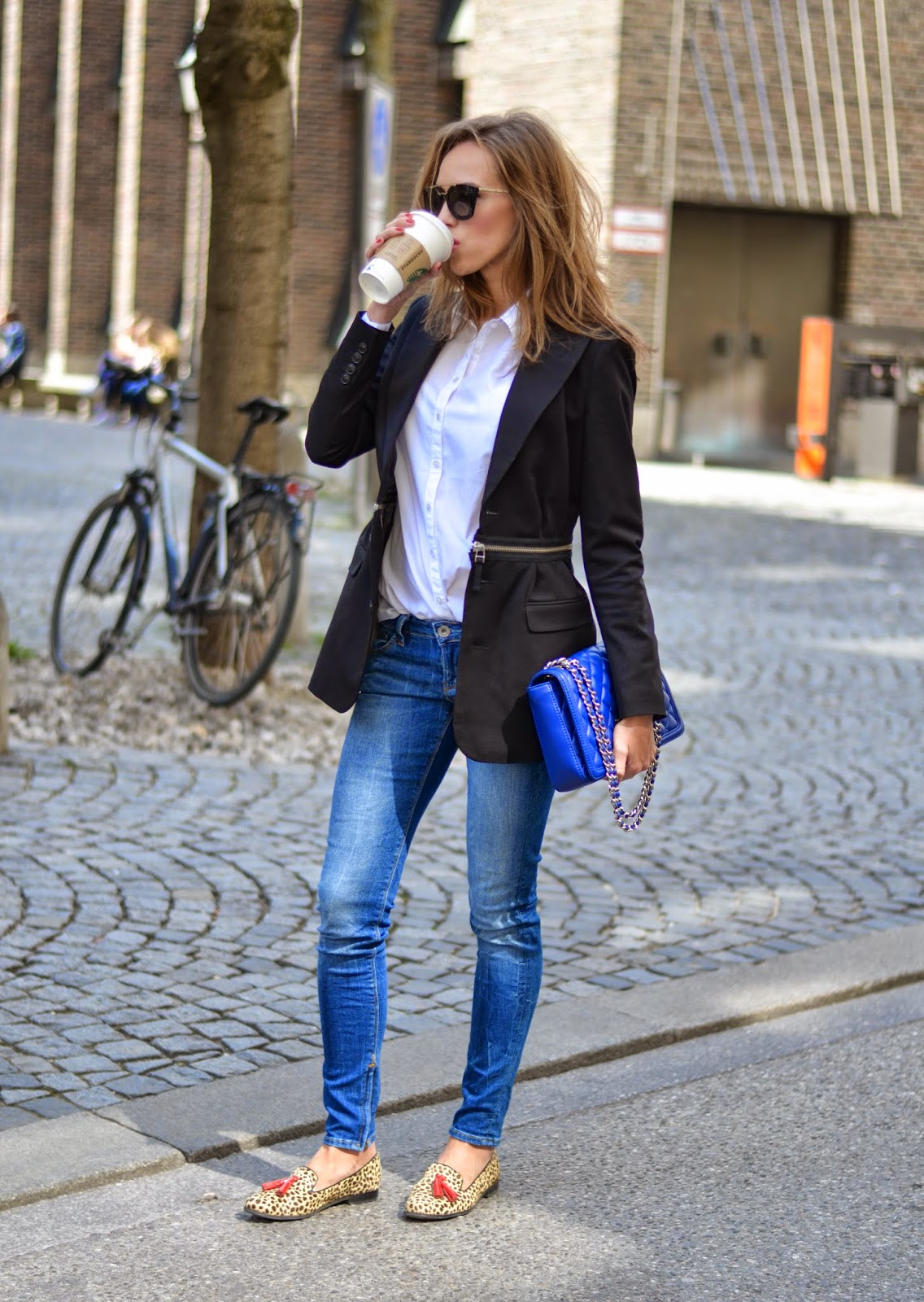 kristjaana mere business casual spring outfit