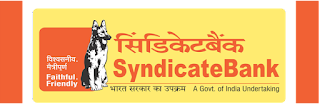 Syndicate Bank PGDBF Notification