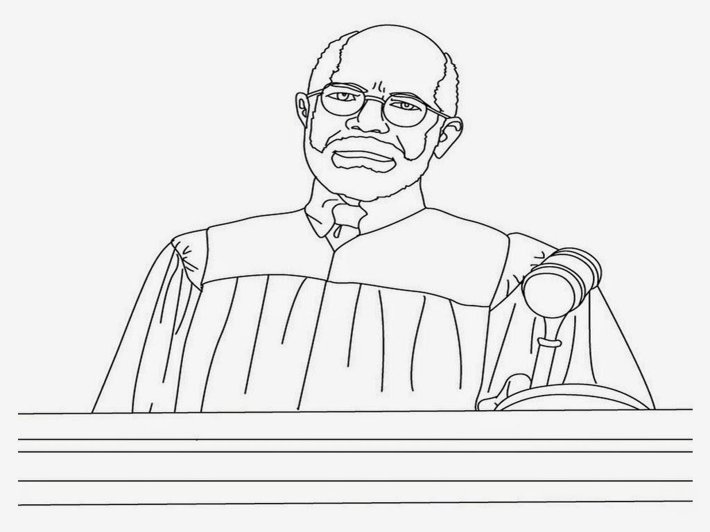 judge coloring pages for kids