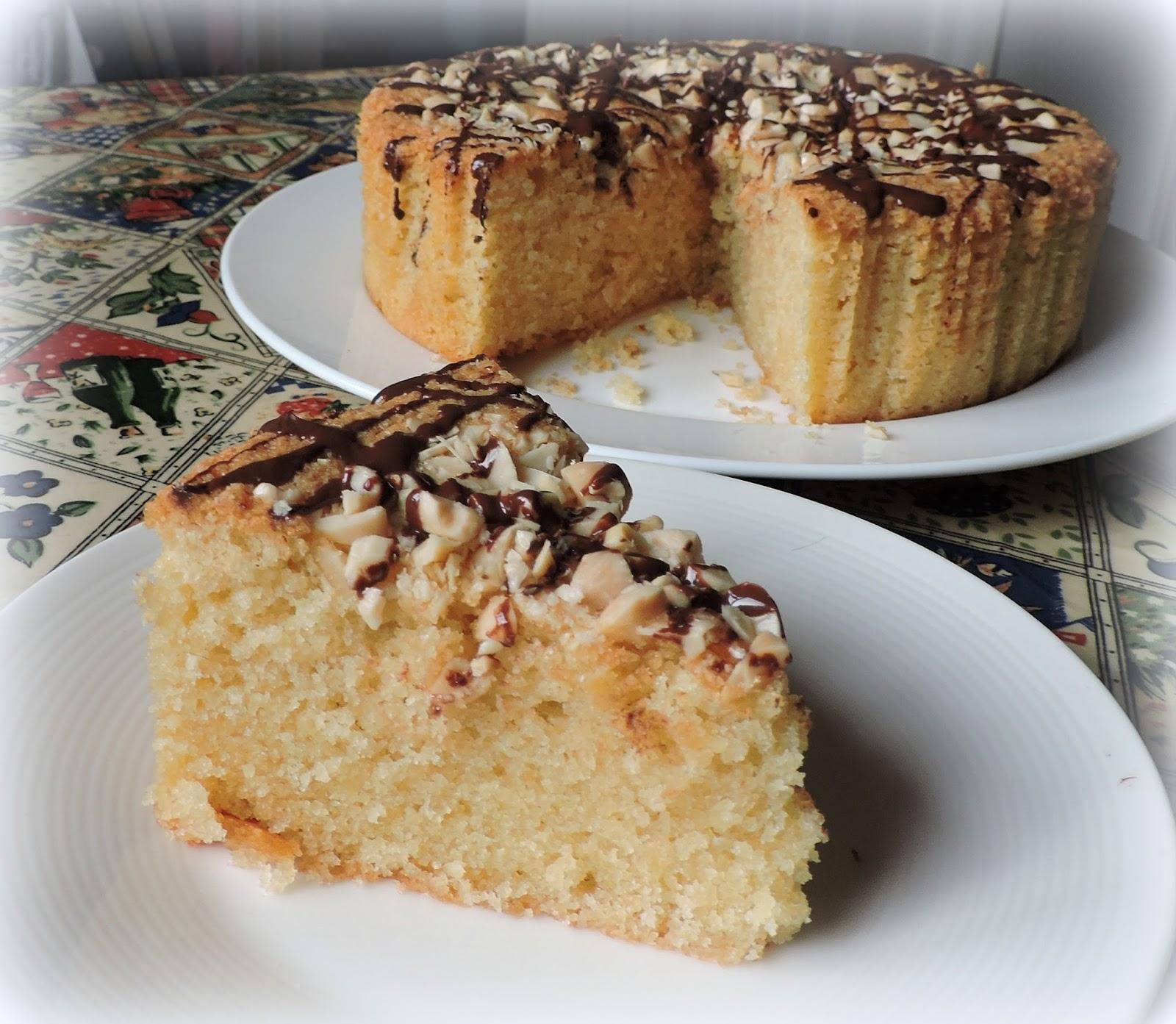 Almondy Torte