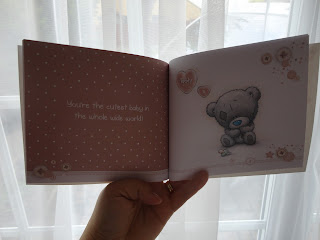 Inside the Me To You Tatty Teddy New Baby Book