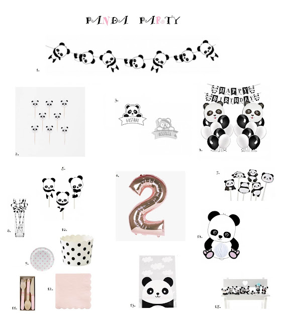 Shopping : Anniversaire Panda version fifille !
