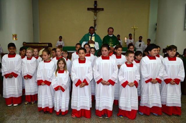 Paróquia São Pedro terá 29 novos coroinhas
