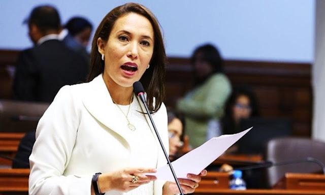 Paloma Rosa Noceda Chiang, denunció que fue víctima de tocamientos indebidos, por parte de un colega de la bancada a la que perteneció anteriormente (Fuerza Popular)