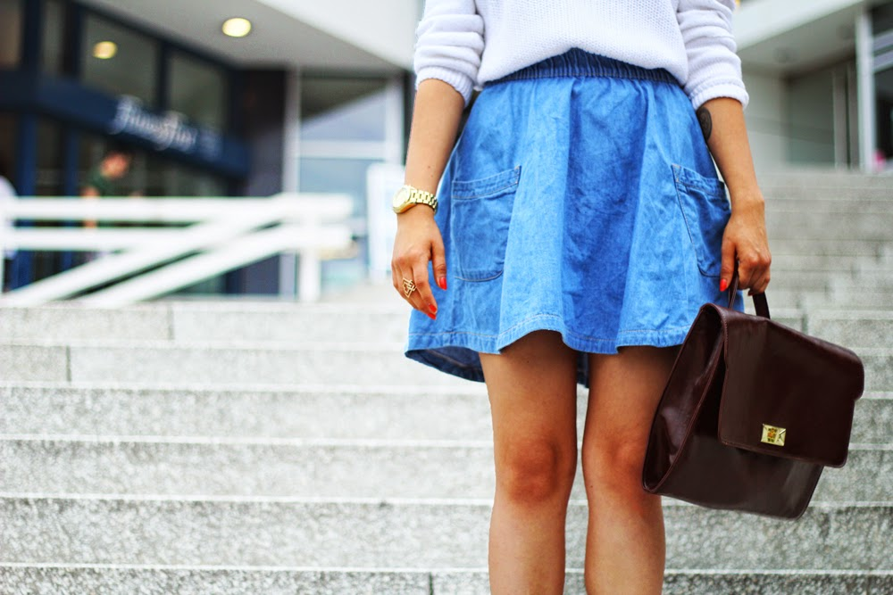 STYLE OUTFIT BAG SKIRT MYBERLINFASHION