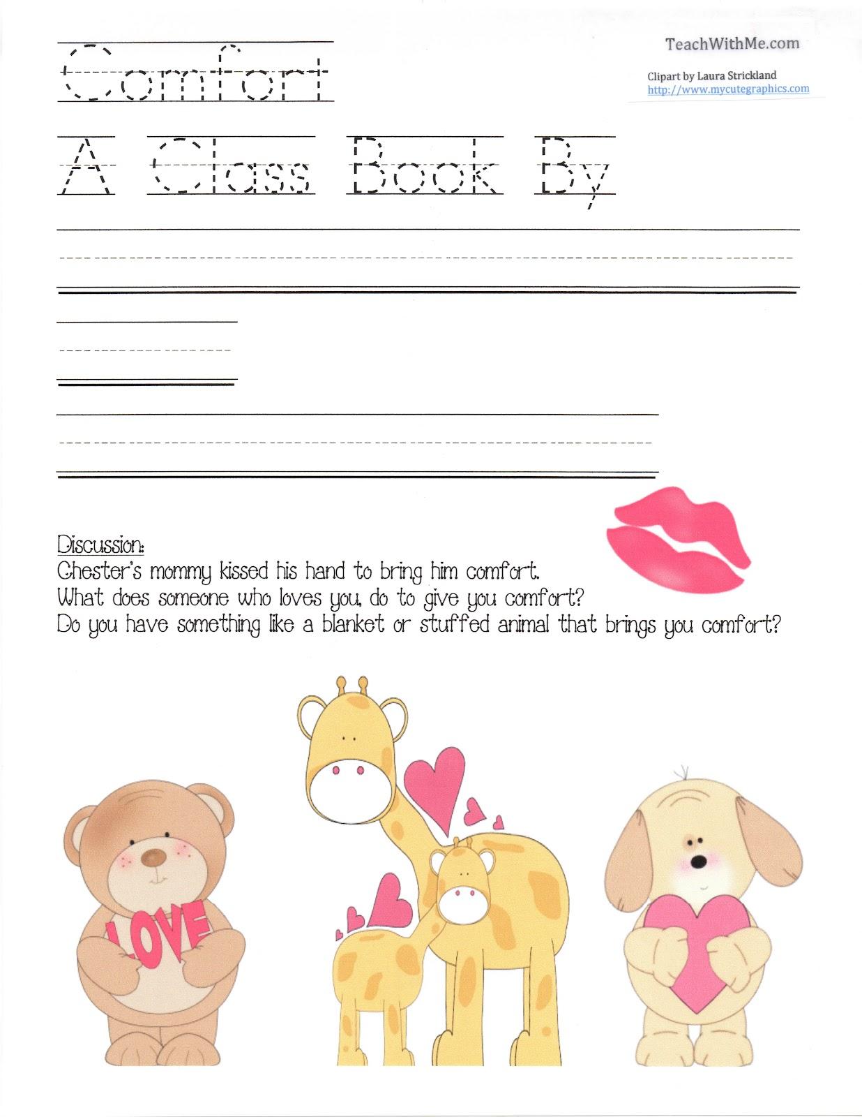 Class Comfort Book