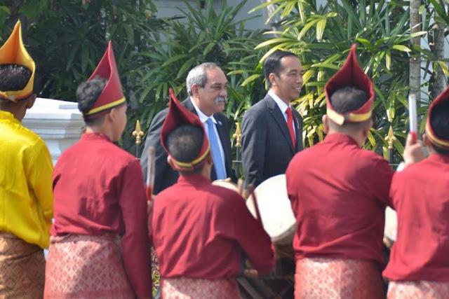 Tak Disangka, Presiden Mikronesia Ternyata Masih Keturunan Orang Indonesia, Kunjungan Resmi Bertemu Presiden Sekaligus Pulang Kampung Ke Maluku