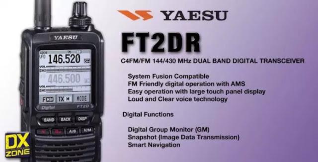 Yaesu FT-2DR Handie Talkies