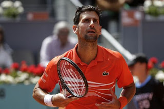 Djokovic reaches Madrid Open quarterfinals