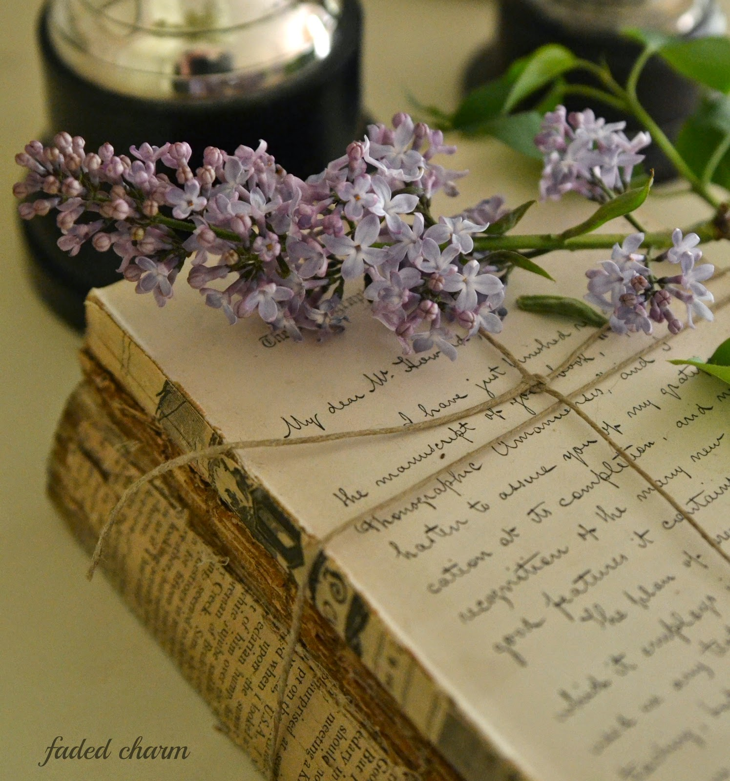 Faded Charm: ~The Sweet Scent Of Lilacs~