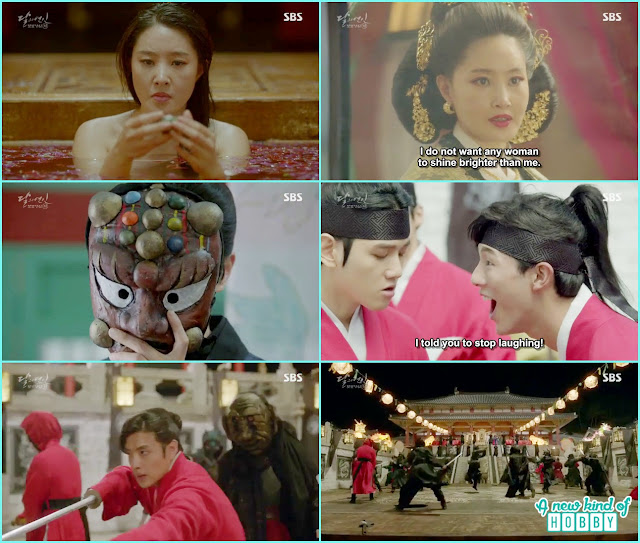 prince performance in palace at lantern festival - Moon Lovers: Scarlet Heart Ryeo - Episode 2 Review