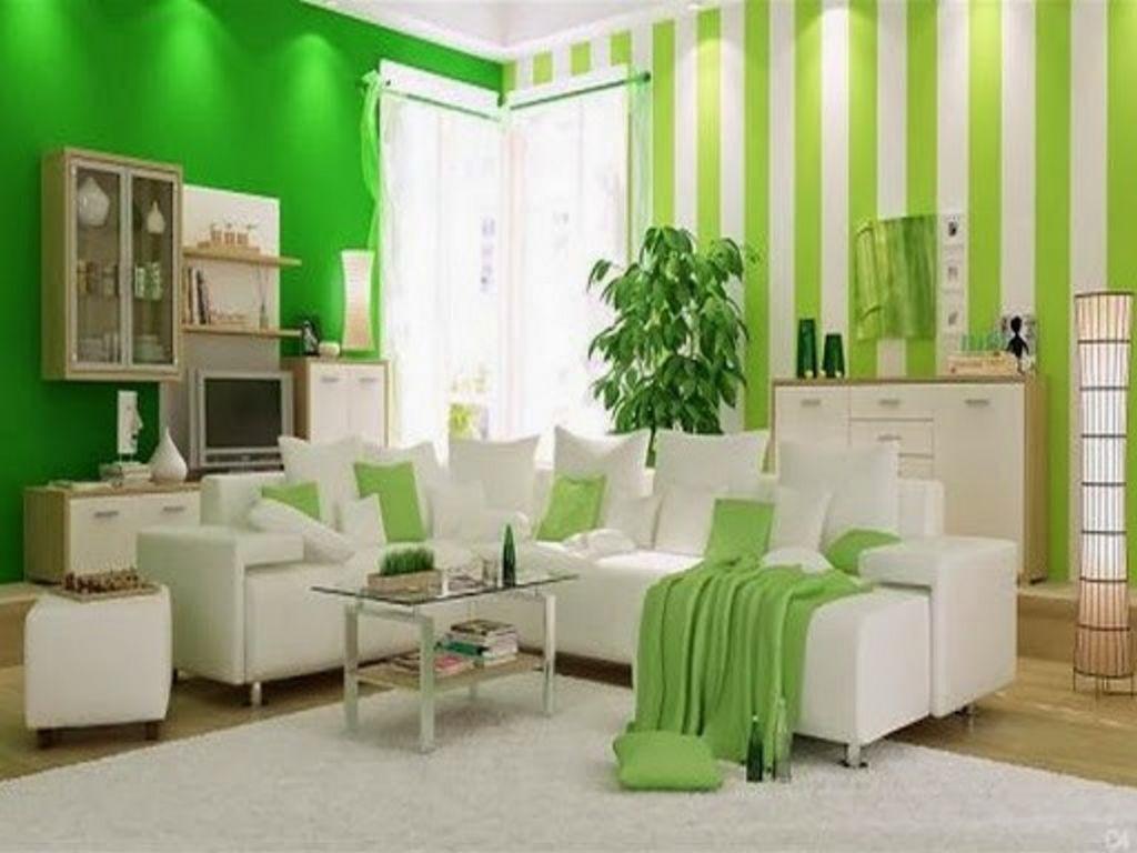 contoh cat dinding ruang tamu minimalis banyak disukai