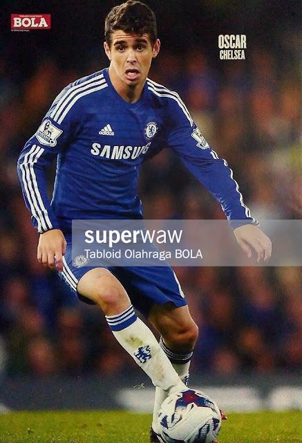 Oscar Chelsea FC 2014