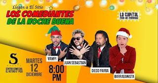 Comediantes de la Noche Buena 2017