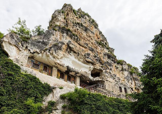 Iglesias rupestres de Ivanovo  Bulgaria