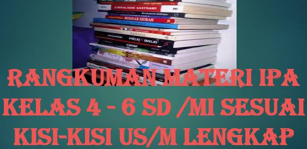 Bedah Materi IPA Kelas 4-6 Sesuai Kisi Kisi US/M  SD/MI Lengkap#Aneka Pendidikan#