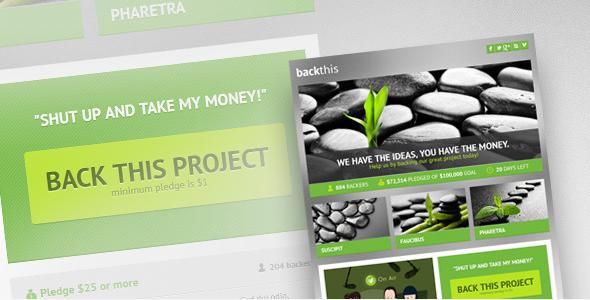 Social Media: Temas de Wordpress para Crowdfunding