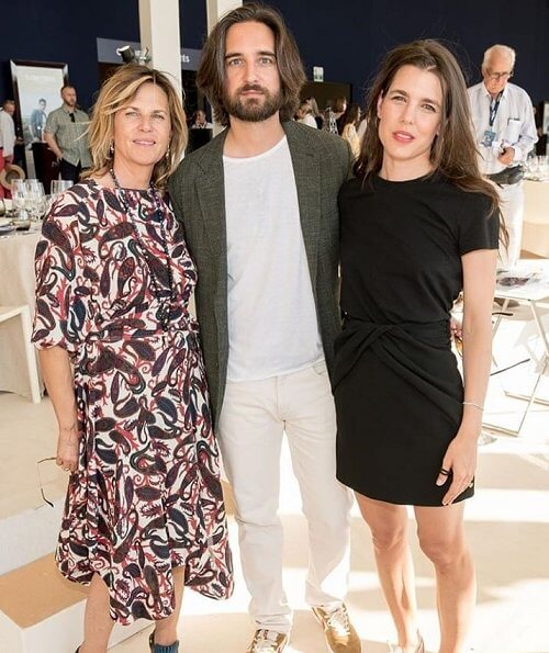 Charlotte Casiraghi, Dimitri Rassam and Juliette Dol attended the 2019 Longines Global Champions Paris Eiffel Jumping