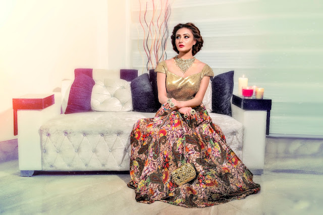 Aida Couture by Asma Gulzar Participated in Celebrating Vivaha India's largest consumer wedding and lifestyle exhibition