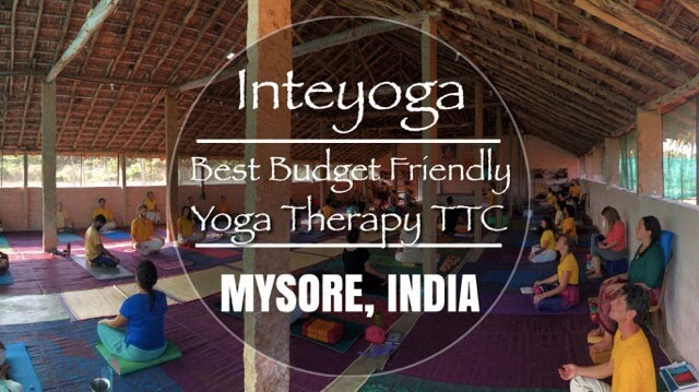 Inteyoga Yoga Therapy Training India