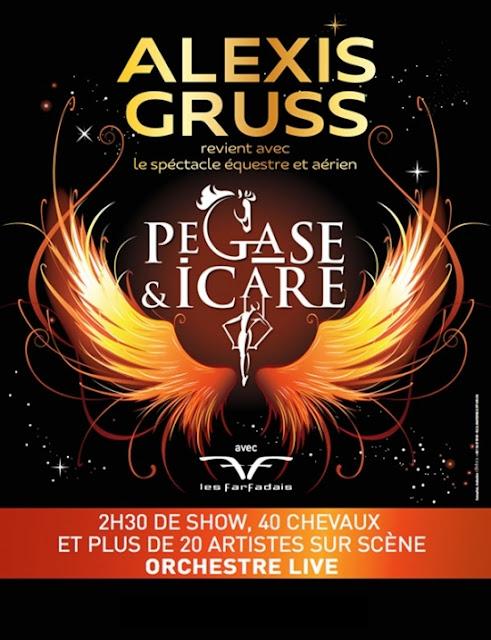 Show Pégase et Icare - Les troupes Gruss et Les Farfadais - Blog beauté Les Mousquetettes