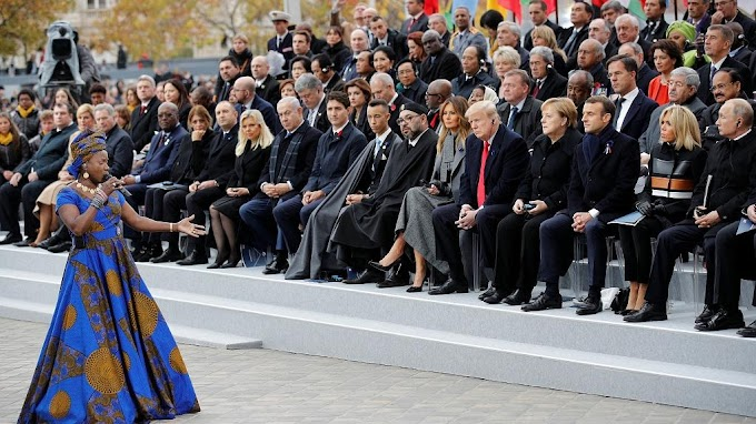 Video: Angelique Kidjo amazes as world leaders gather in France