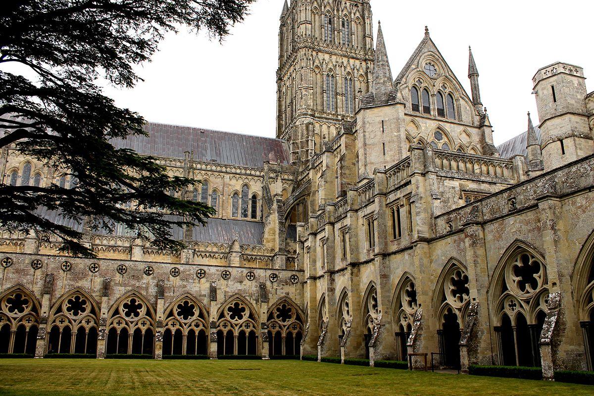 Claustro Catedral Salisbury
