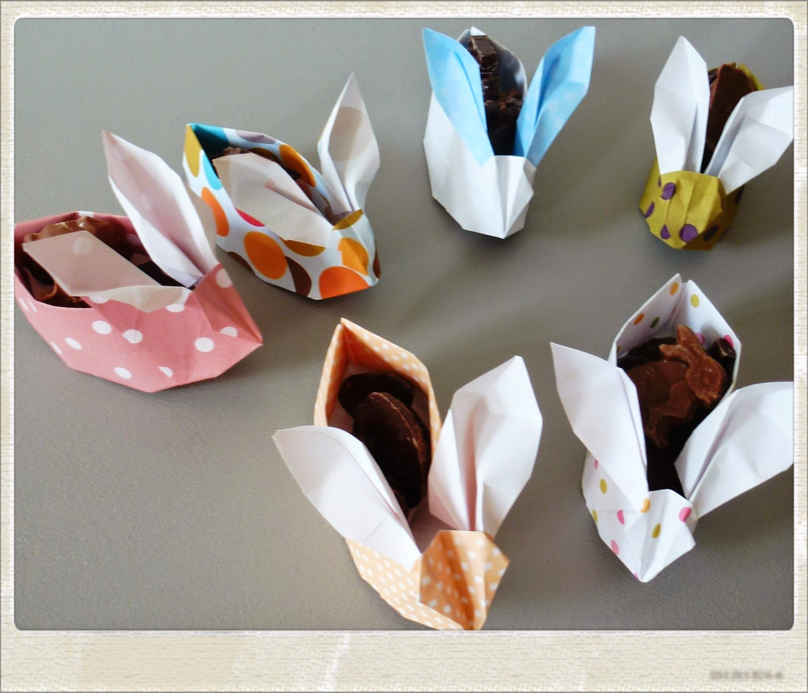 tuto origami lapin paques. Black Bedroom Furniture Sets. Home Design Ideas
