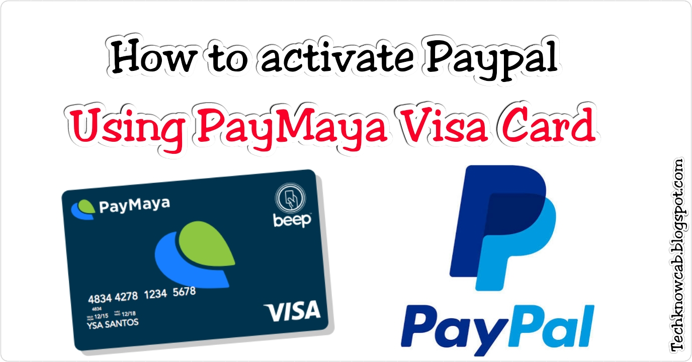 how to verify paypal using paymaya visa card - Virtual Visa Card Load With Paypal