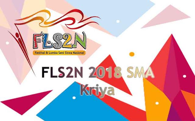 FLS2N SMA 2018 - Kriya