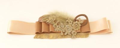 OI 1617 - Coleccion Cobre Pasamaneria - Cinturon