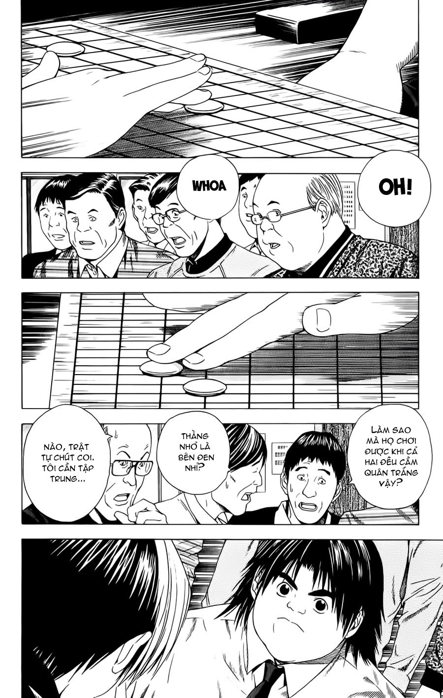 Hikaru No Go hikaru no go chap 120 trang 3