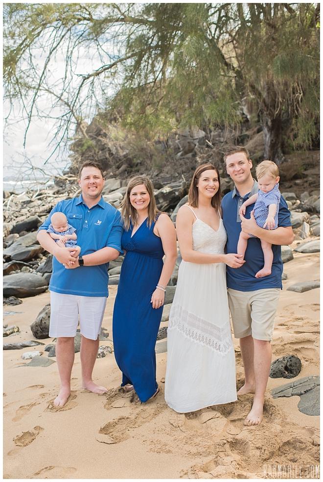 Family Portrait in Maui