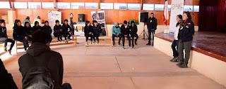 Noticias: Taller Liceo Colchane- Instituto Jane Goodall- Armadillos de Chile