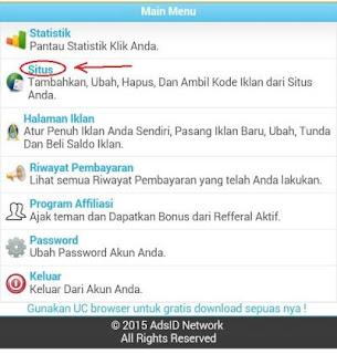 adsid 3jmtg Cara mendapatkan Pulsa gratis dari Internet dengan AdsID.me