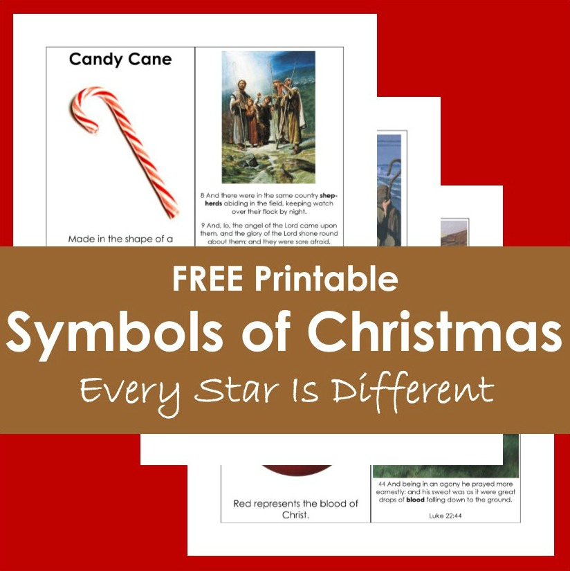 Symbols of Christmas Activity and Free Printables
