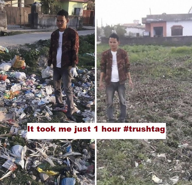 best answers to the #trashtag challenge