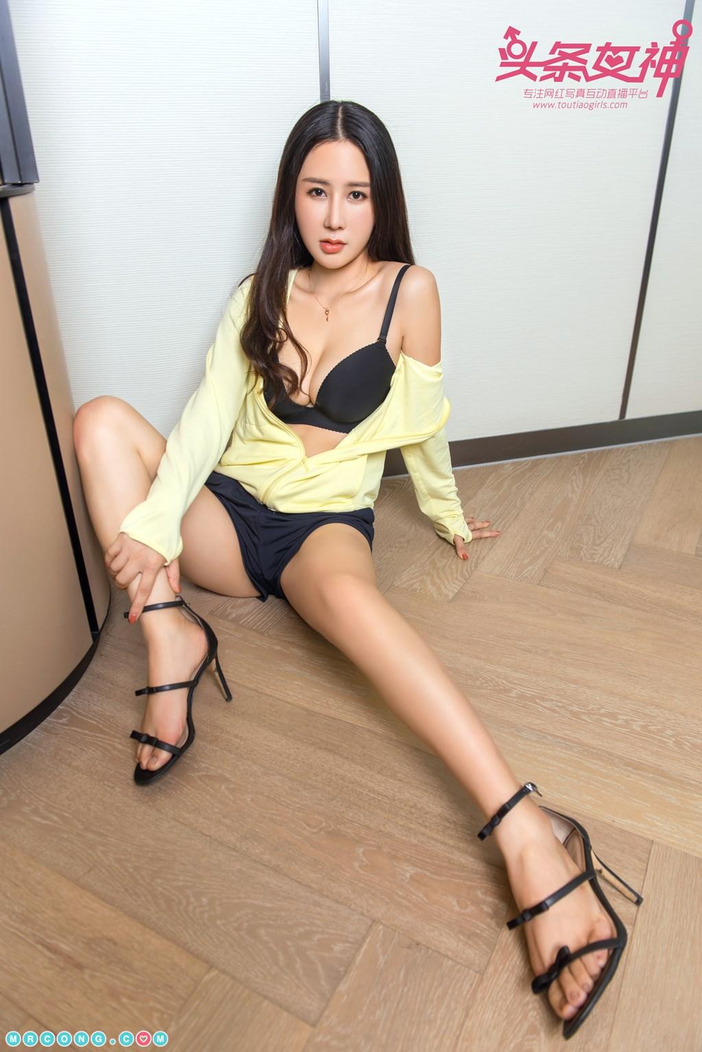 Image TouTiao-2017-10-07-Xi-Xi-MrCong.com-004 in post TouTiao 2017-10-07: Người mẫu Xi Xi (希希) (21 ảnh)